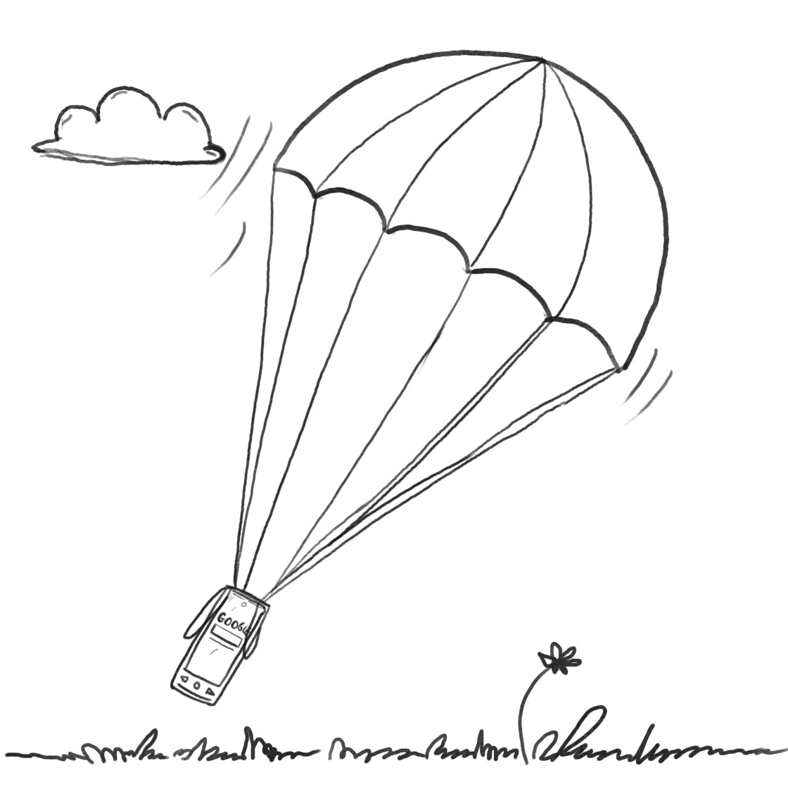 Cellphone Parachute