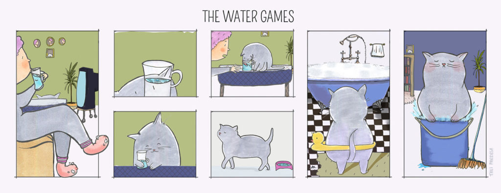 Diego The Cat - The Water Games