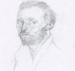 Van Gogh Portrait Sketch