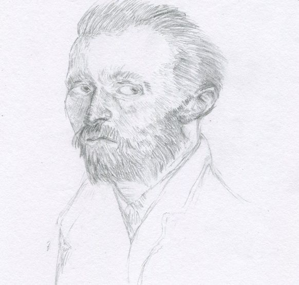 Van Gogh Portrait Sketch