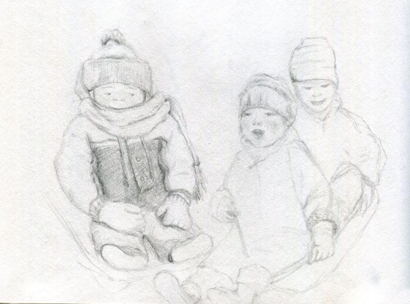 Favorite Childhood Memory Drawing 1