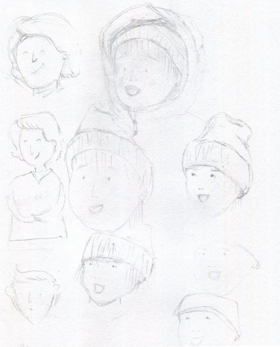 Favorite Childhood Memory Drawing 3