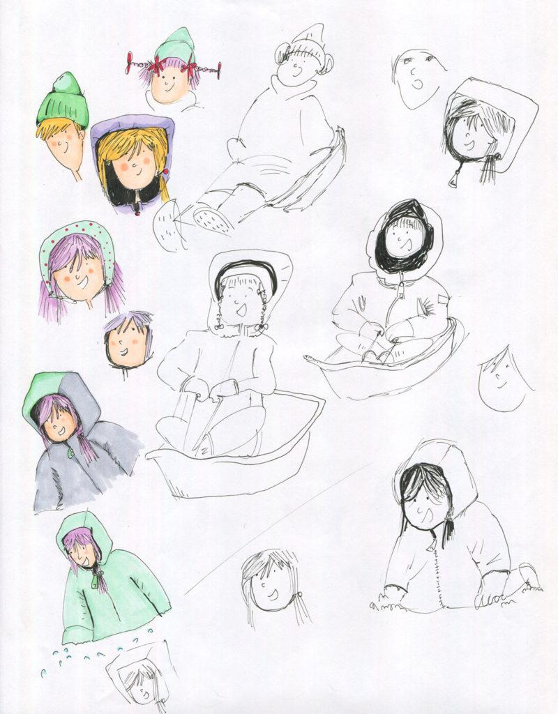 Favorite Childhood Memory Drawing 4