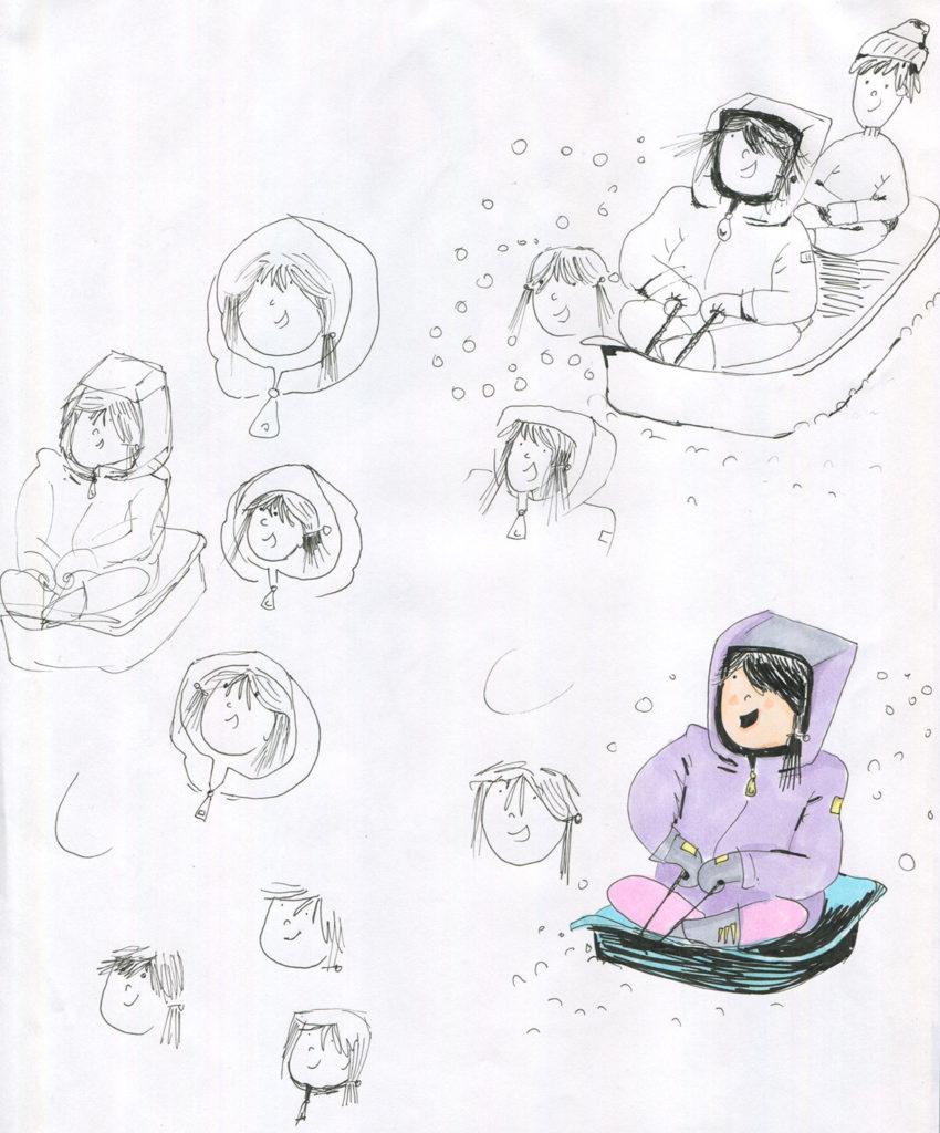 Favorite Childhood Memory Drawing 5