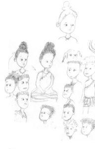 Akouba - Classmates Sketches