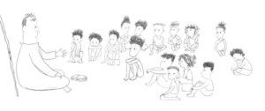 Akouba - Classmates Sketches 2