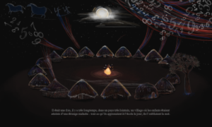 Akouba - Village at Night Draft 2