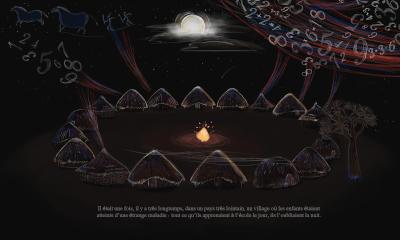Akouba - Village at Night Draft 2