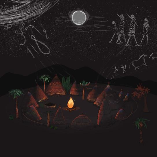 Akouba - Village at Night Draft
