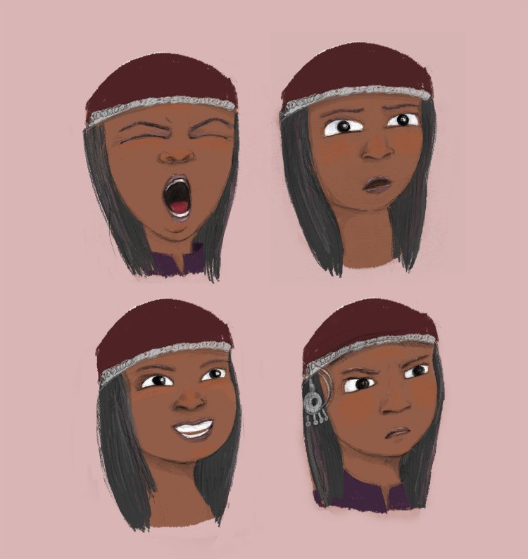 Little Red Hood - Expressions